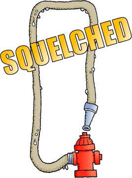 SQUELCHED