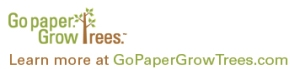 Go Paper Grow Trees Logo